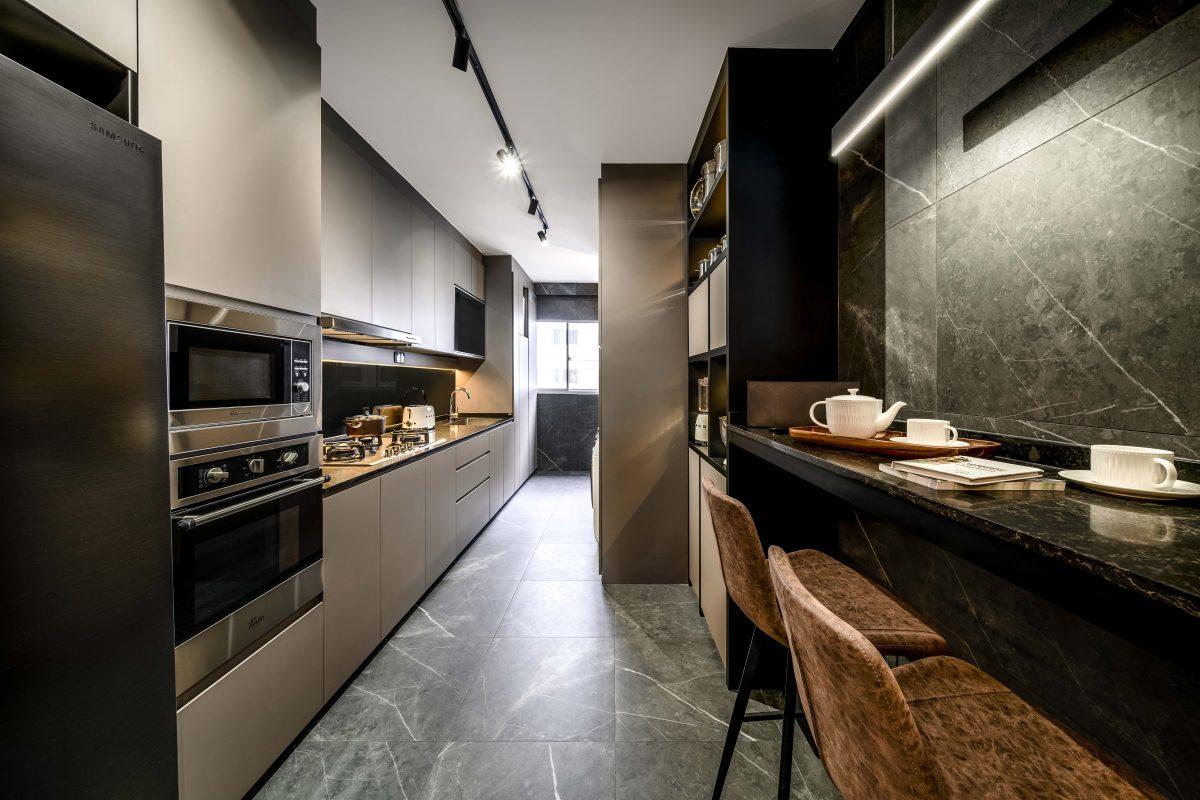 Perfect HDB Kitchen Cabinet Design In Singapore   Weiken Interior ...